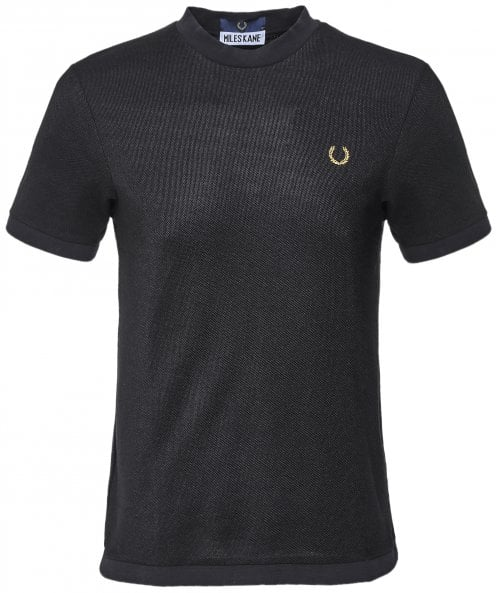 Fred Perry Miles Kane Textured Pique T-Shirt SM7012 102