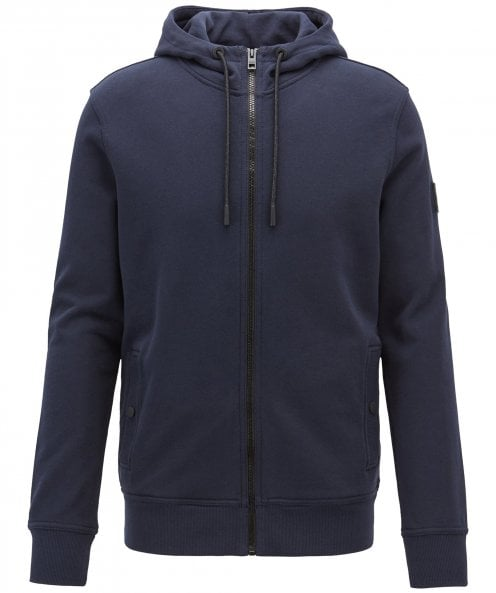BOSS Zip-Through French Terry Zounds Hoodie