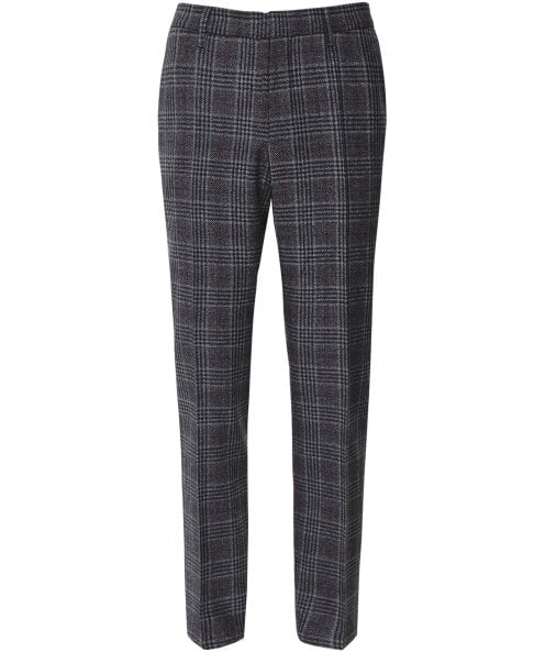 Baldessarini Virgin Wool Glen Check Ruben Trousers