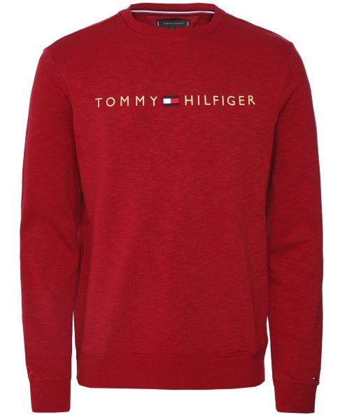 Tommy Hilfiger Crew Neck Space Dye Sweatshirt