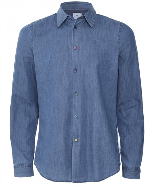 PS by Paul Smith Tailored Fit Denim Shirt