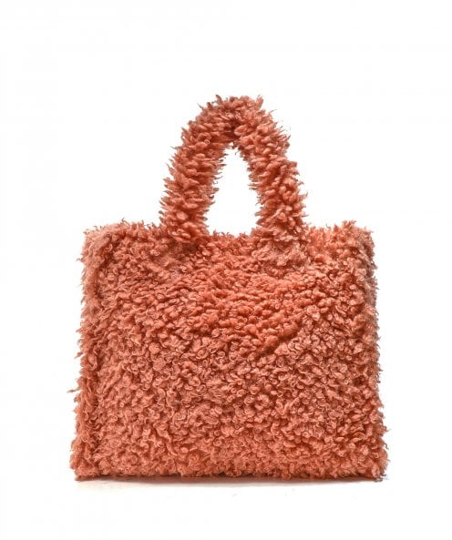 Stand Lolita Faux Shearling Bag
