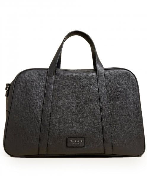Ted Baker Tumbled Leather Traves Holdall
