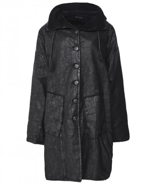 Lurdes Bergada Coated Oversized Coat