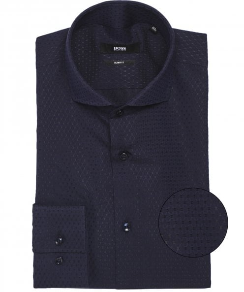 BOSS Slim Fit Dobby Weave Jason Shirt