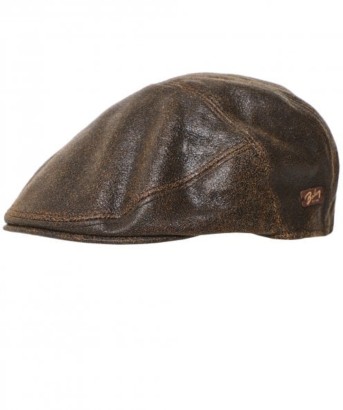 Bailey Leather Taxten Cap