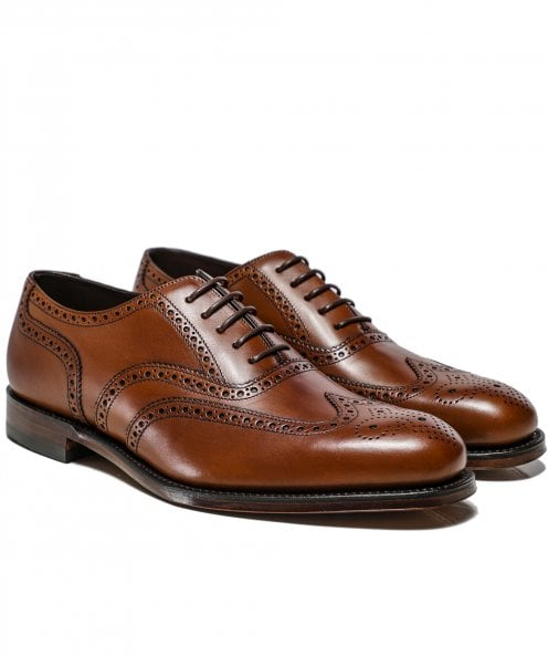 Loake Leather Pembroke Oxford Brogues