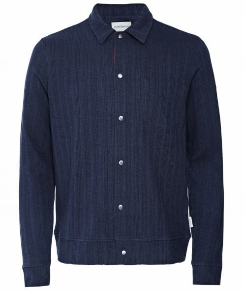 Oliver Spencer Jersey Striped Rundell Jacket