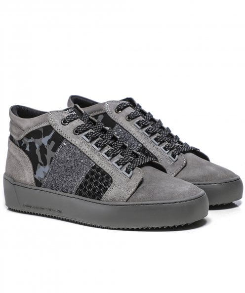 Android Homme Suede Camo Propulsion Mid Trainers