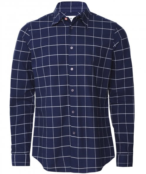 Paul Smith Stretch Tailored Fit Check Shirt