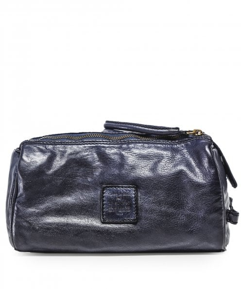 Campomaggi Leather Wash Bag