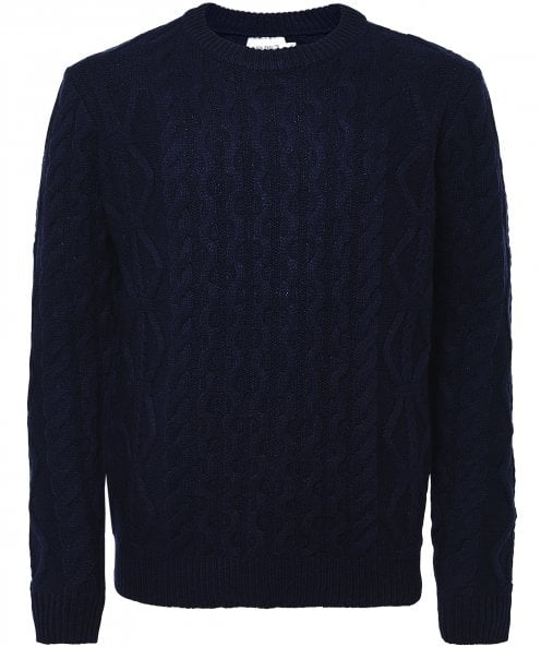 Les Deux Lambswool Cable Knit Pigalle Jumper