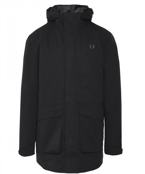 Fred Perry Water-Resistant Padded Parka J7513 102