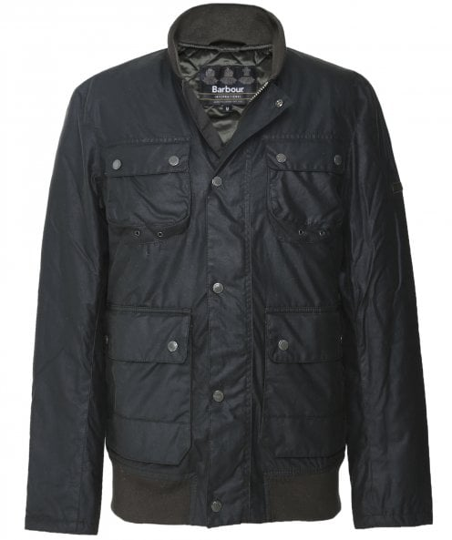 Barbour International Waxed Edhill Jacket