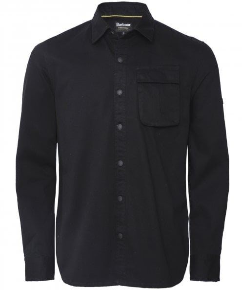 Barbour International Brushed Twill Contact Overshirt