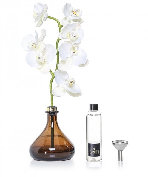 Senti White Flowers Orchid Diffuser