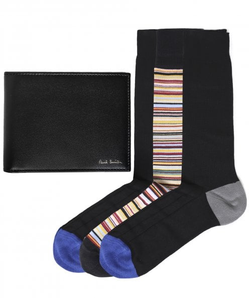Paul Smith Wallet & Socks Gift Set