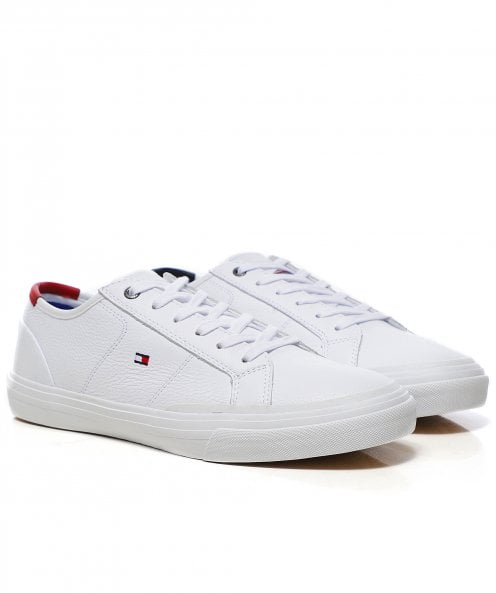 Tommy Hilfiger Leather TH Core Trainers