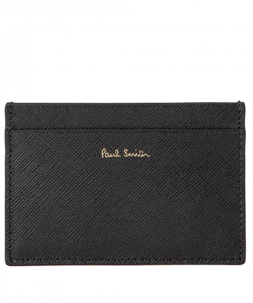 Paul Smith Leather Racing Mini Card Holder