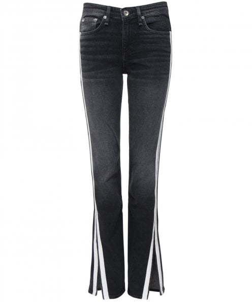 Rag and Bone Mid Rise Flared Cate Jeans