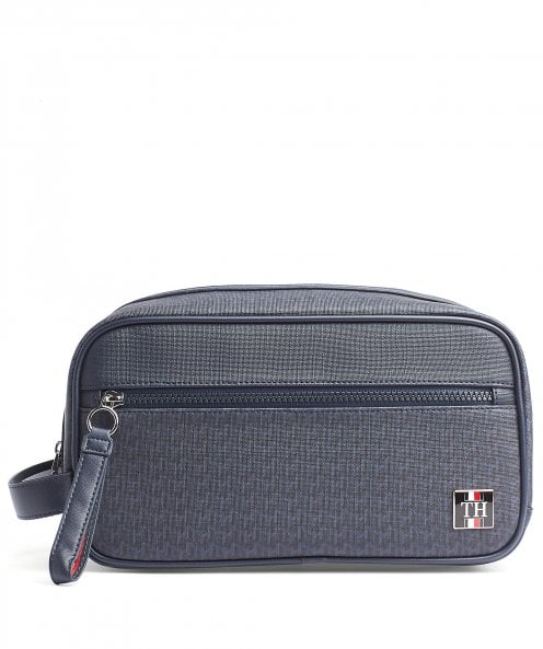 Tommy Hilfiger TH Monogram Patch Wash Bag