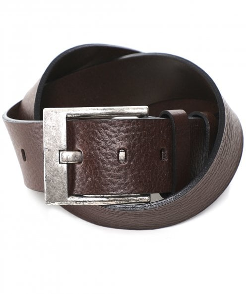 Amanda Christensen Tumbled Leather Belt