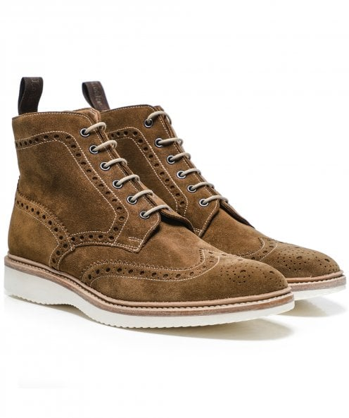Loake Suede Mamba Boots