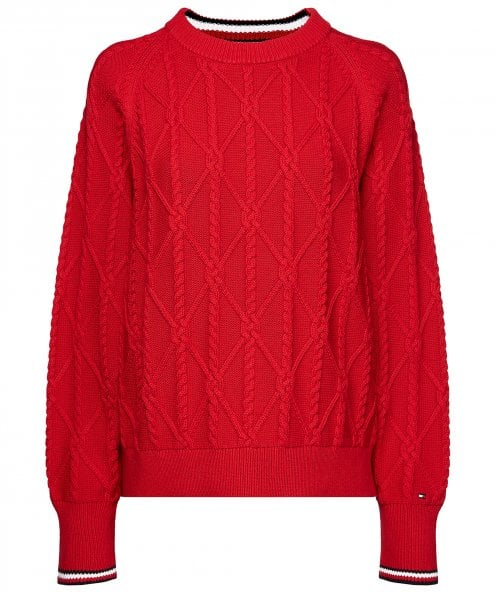 Tommy Hilfiger Essential Organic Cotton Knot Jumper