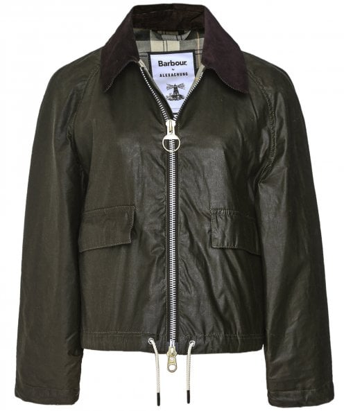 Barbour ALEXACHUNG Margot Waxed Cotton Jacket
