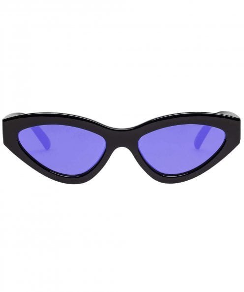 Le Specs Synthcat Mirrored Sunglasses