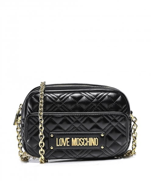 Moschino Love Moschino Quilted Camera Bag