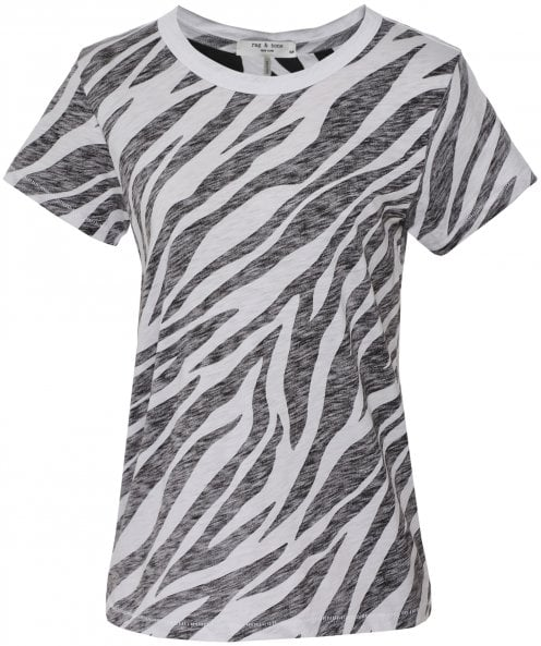 Rag and Bone All Over Zebra Tee