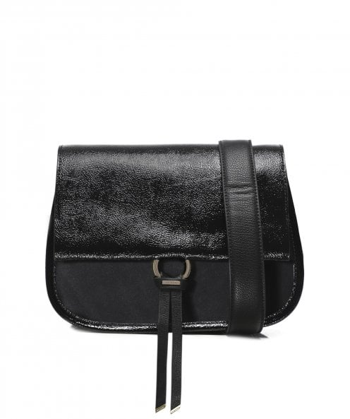 Ted Baker Harrlee Leather and Suede Cross Body Bag