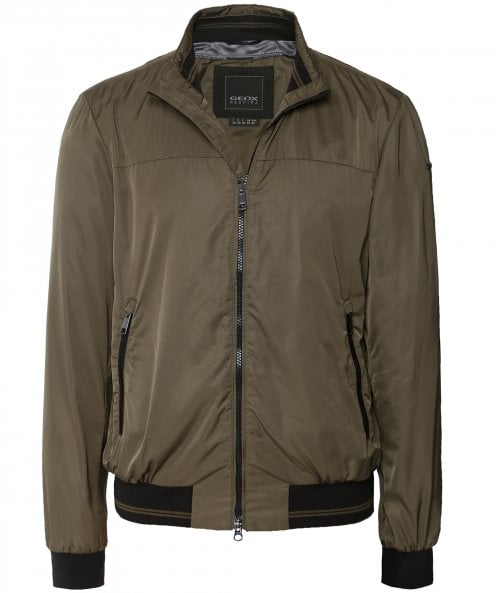 Geox Water-Repellent Tevere Bomber Jacket