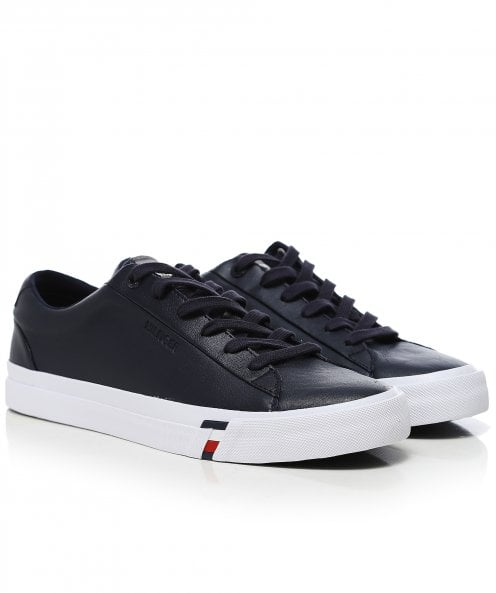Tommy Hilfiger Leather Corporate Trainers