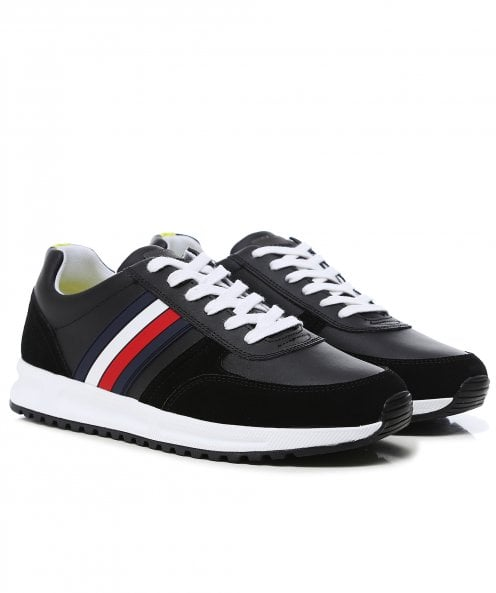 Tommy Hilfiger Leather Modern Corporate Runner Trainers