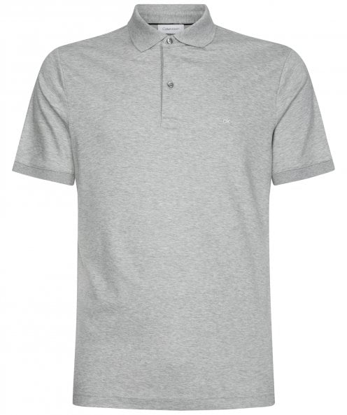 Calvin Klein Slim Fit Cotton Interlock Polo Shirt