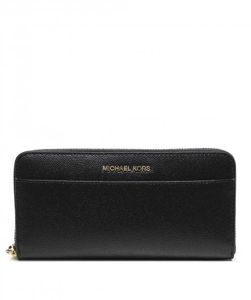 Michael Kors Crossgrain Leather Continental Wallet