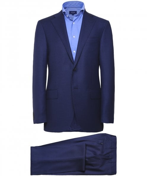 Corneliani Virgin Wool Birdseye Suit