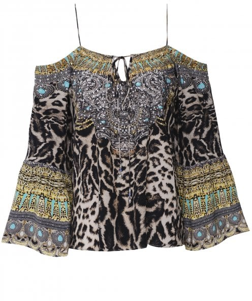 Inoa Siberia Silk Gypsy Top