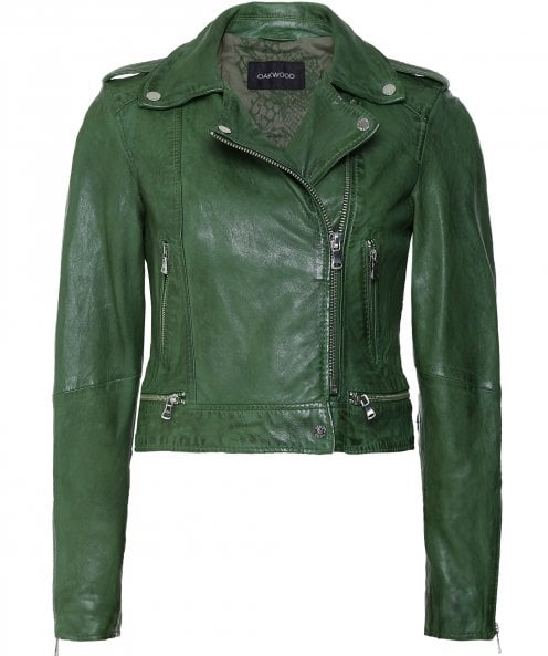 Oakwood Kyoto Leather Biker Jacket