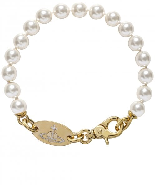 Vivienne Westwood Accessories Celia Pearl String Necklace