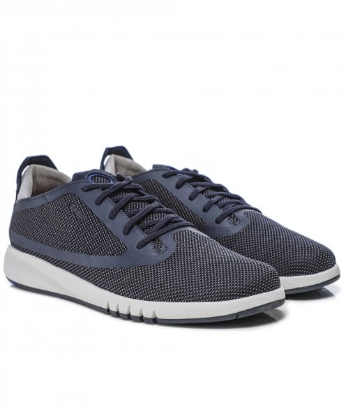 Geox Knitted Aerantis Trainers