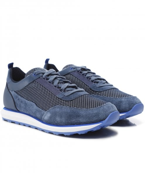 Geox Suede Mix Volto Trainers