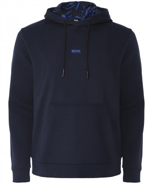BOSS Relaxed Fit WKapok Hoodie
