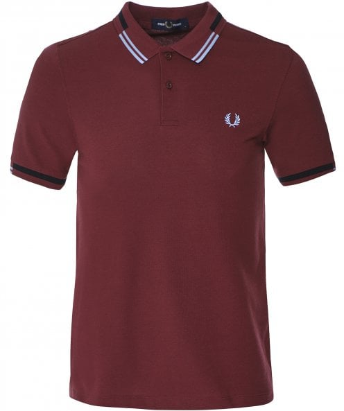 Fred Perry Abstract Tipped Polo Shirt M8551 122