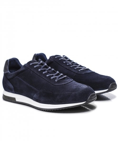 Loake Suede Bannister Trainers