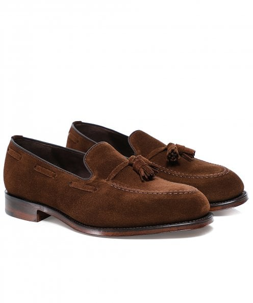 Loake Polo Suede Russell Loafers