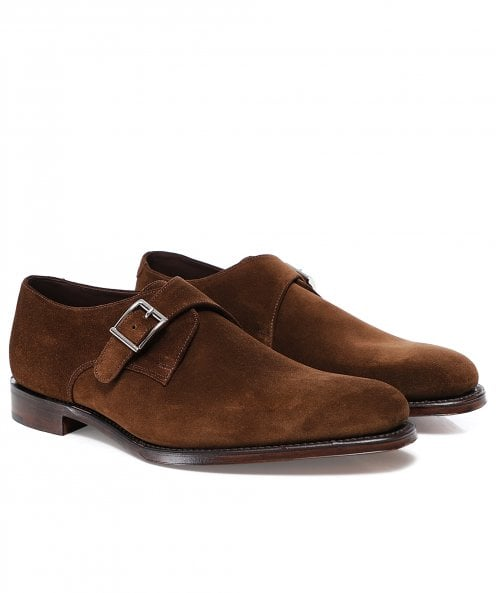 Loake Polo Suede Medway Monk Shoes