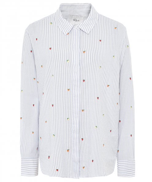 Rails Taylor Embroidered Citrus Shirt